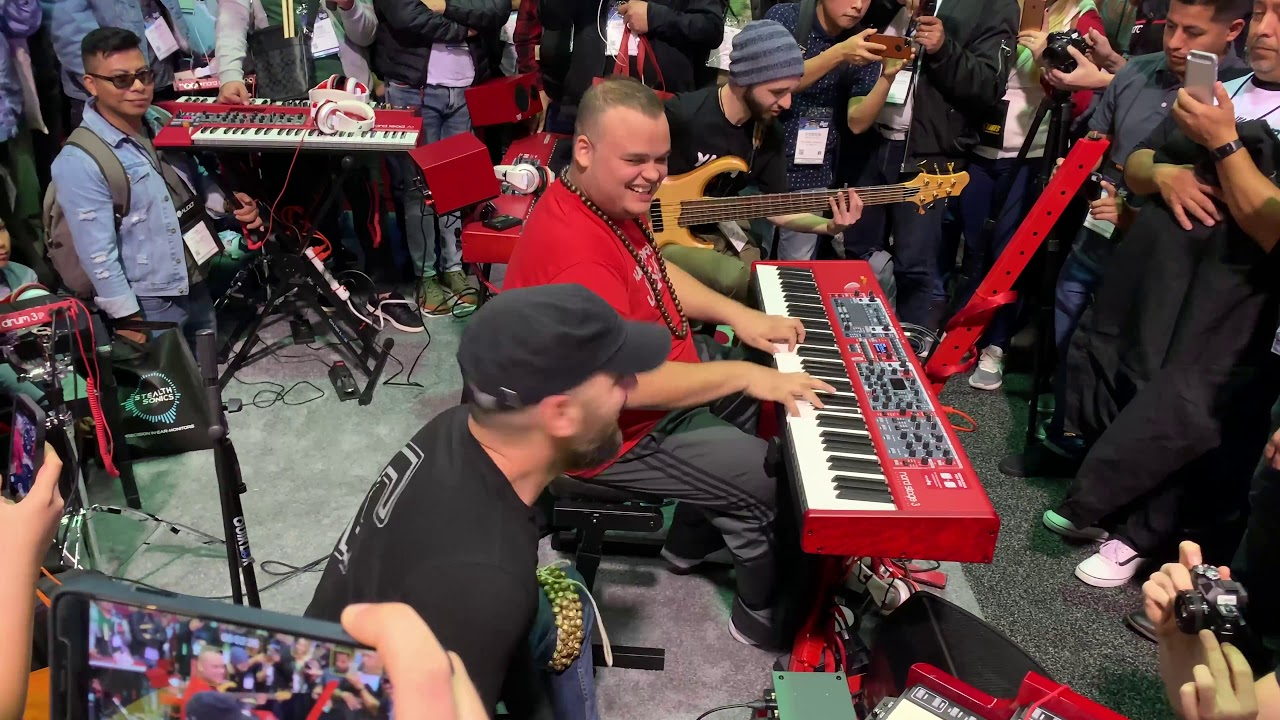 NAMM 2019 | JESUS MOLINA PERFORMANCES/Nord Booth/Anaheim,CA