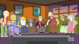 Pyramus and Thisbe in The Simpsons