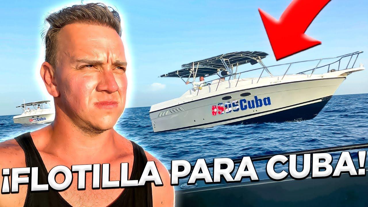 FUIMOS EN UNA FLOTILLA PARA CUBA - ¡La Historia Completa! - Oscar Alejandro
