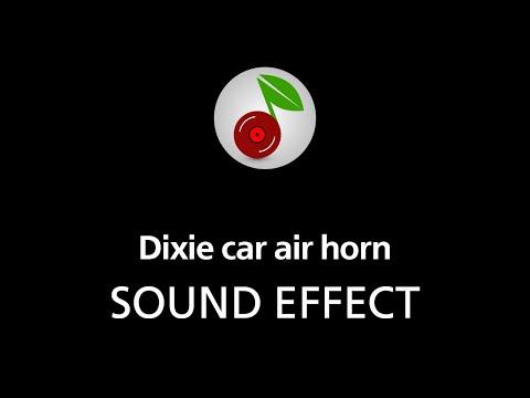 🎧 Dixie car air horn SOUND EFFECT