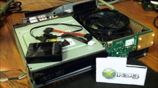xKey360 Installation into a Slim Xbox 360