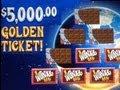 Willy Wonka Slot Machine Bonus Demo - Golden Ticket Found!  ~ WMS