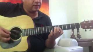 Torre de marfil, guitar lesson