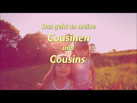 Liebe Cousinen, liebe Cousins, dies ist für euch ❤ !
