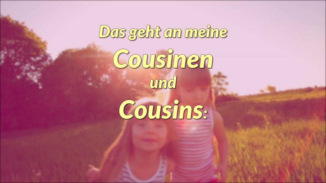 Geburtstagswunsche beste cousine