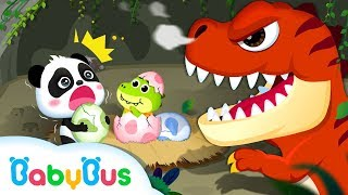 Baby Panda Looks after Baby Dinosaur | Kids Songs collection | Nursery Rhymes BabyBus