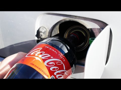 What Happens If You Fill Up a Car with Coca Cola