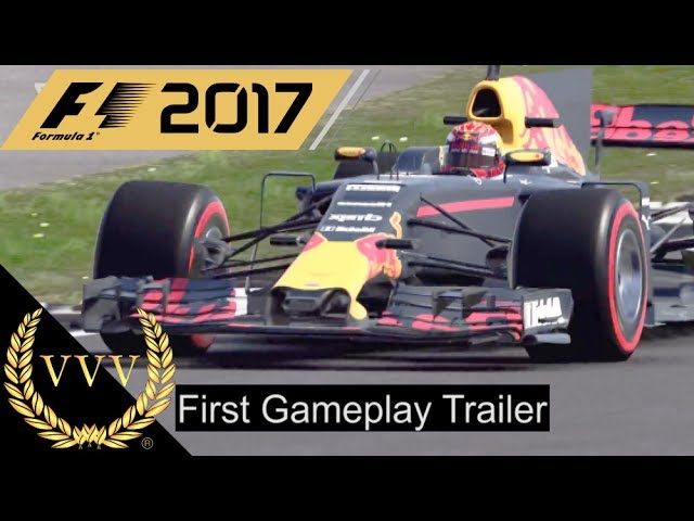 F1 2017 First Gameplay Trailer