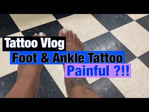 Getting A Foot Tattoo !!!