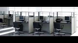 видео перегородки офисные