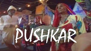Pushkar, India: Walking Down the Main Bazaar at Night