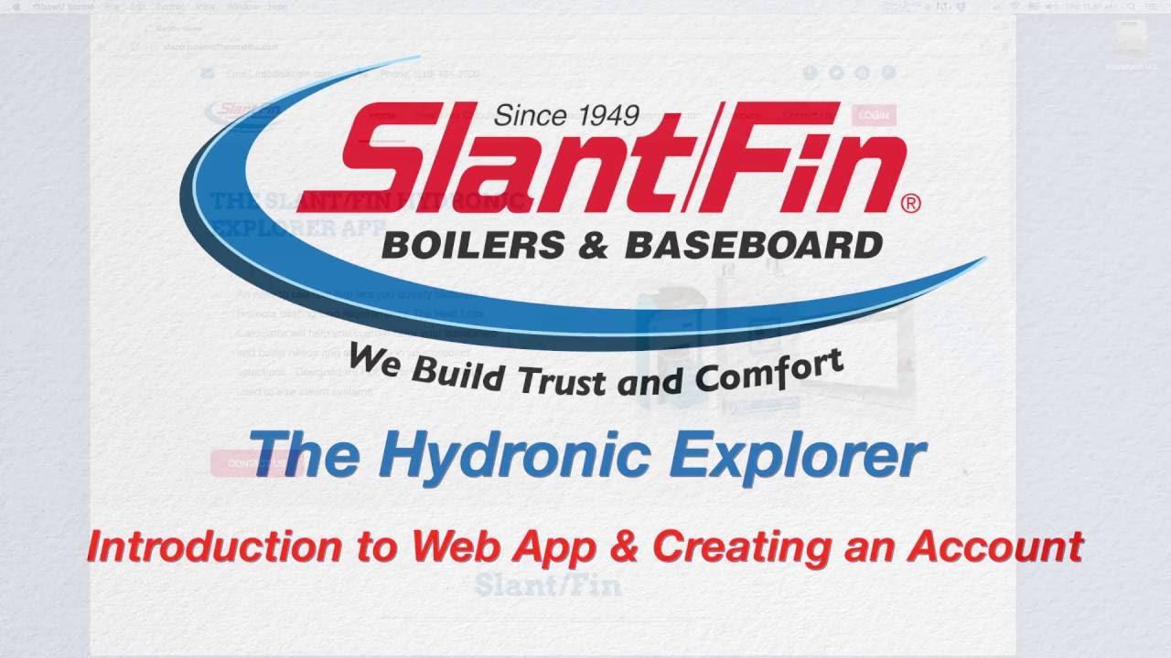 Intro To Web Creating Account Heat Loss Calculator Slant Fin Corporation