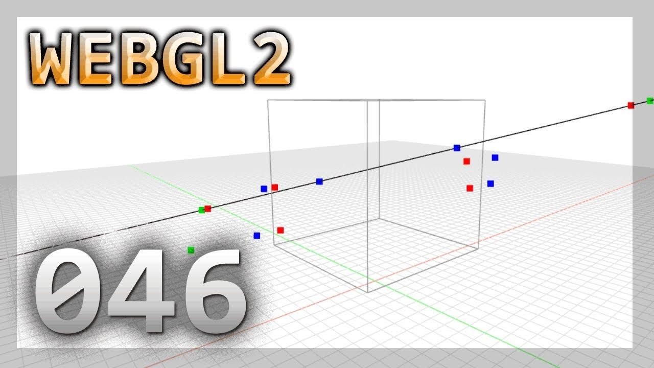 WebGL 2 0 : 046 : Ray intersects Bounding Box (AABB)