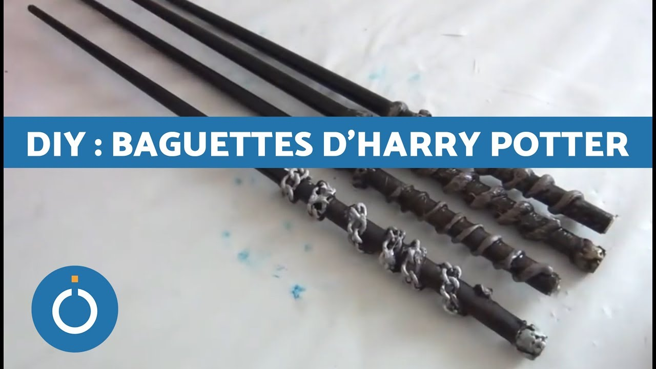 DIY : Baguettes d'Harry Potter