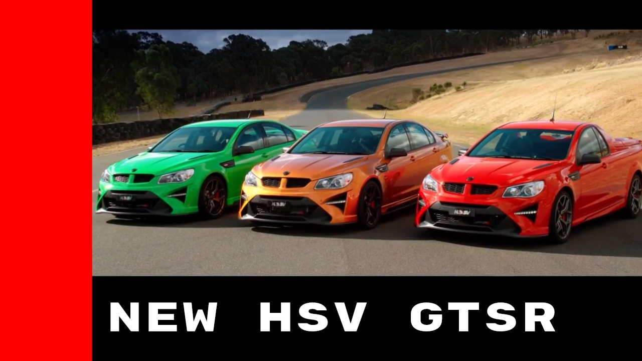 2017 Holden HSV GTSR On Racetrack With 635HP