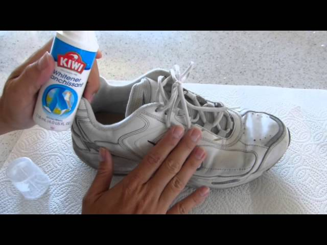 How to Whiten Your Shoes Quick \u0026 Easy