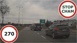 Stop Cham #270 - Niebezpieczne i chamskie sytuacje na drogach thumbnail