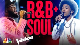 The Best R&B and Soul Performances of the Season - The Voice 2021