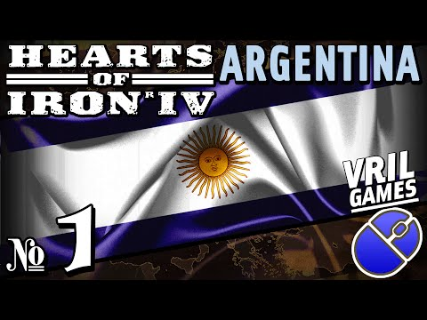 Hearts of Iron 4 | Fascist Argentina | Ironman Series #1