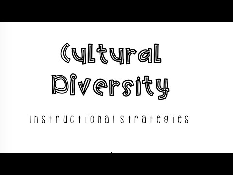 Culturally Diverse Instructional Strategies Youtube