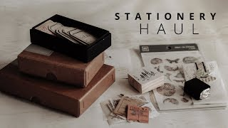 Collective Stationery Haul   NovebyVivienT, Feel Good Parcel & Sumthings of Mine