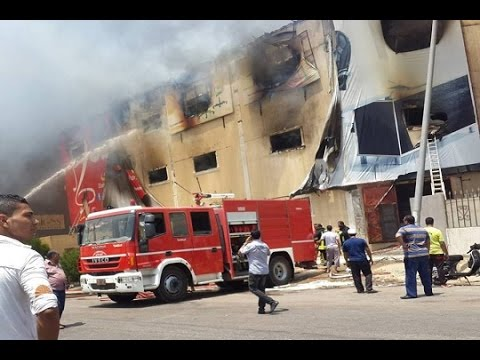 Egypt  25 People Killed In Fire At Furniture Factory