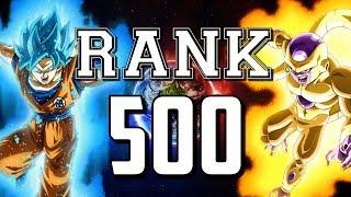 THE ROAD TO RANK 500 BEGINS TODAY! DBZ Dokkan Battle