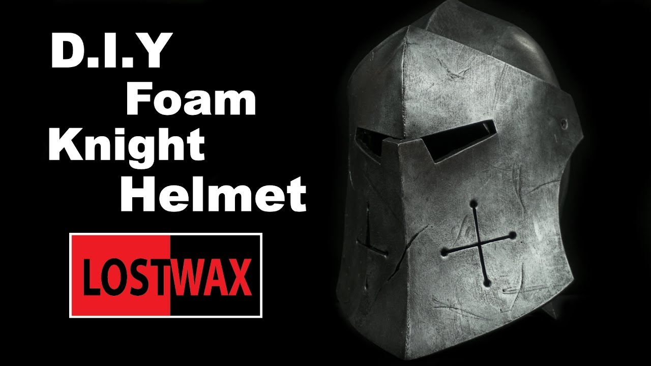 how to make a foam knight helmet for honor cosplay pattern youtube