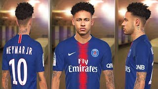 PES 2018 -NEW FACE NEYMAR JR By:Jonathan Facemaker - Only PC