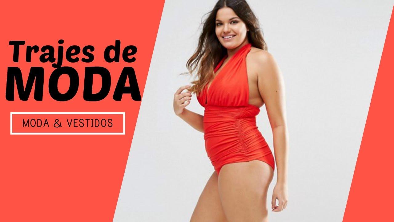 Nuevos trajes de ba o para gorditas 2017 moda mujer for Trajes de bano 2017