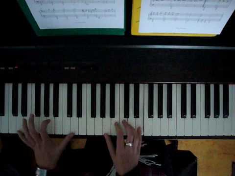 Kissing You, Des'ree, piano
