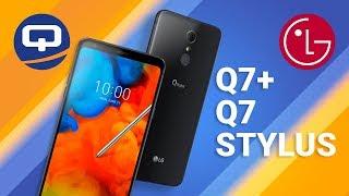 LG Q7, LG Q7+ и LG Q STYLUS + -- Распаковка / QUKE.RU /