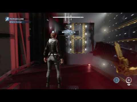 Avengers Walkthrough Use Terminal Expose Lock Mechanism Head for Hangar