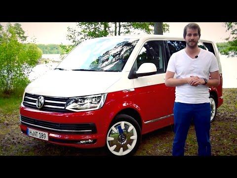 VW T6 Volkswagen Multivan Generation Six T6 Test - #ilovecars
