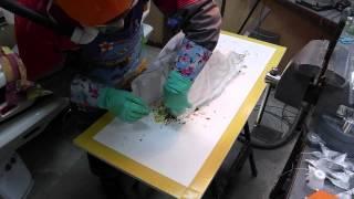 Изготовление воздуховода в автомобиль из стеклопластика: часть 02 (обновлено)(Ручная выкладка стеклоткани с последующим вакуумированием. Собственно процесс выклейки воздуховода. Обсу..., 2015-05-12T21:34:28.000Z)