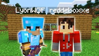LYON MI HA INVITATO NEL SUO MONDO! - Minecraft Vanilla ep.1