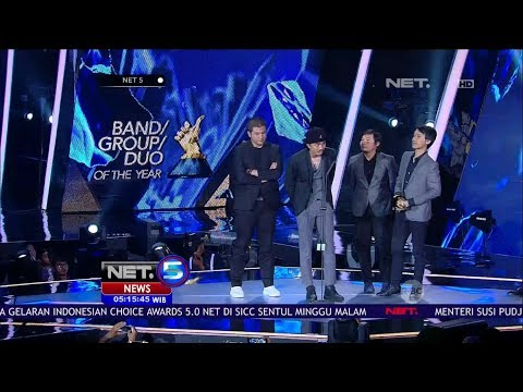 Sheila On 7 Sabet 2 Penghargaan di Indonesian Choice Awards 5.0 - NET 5
