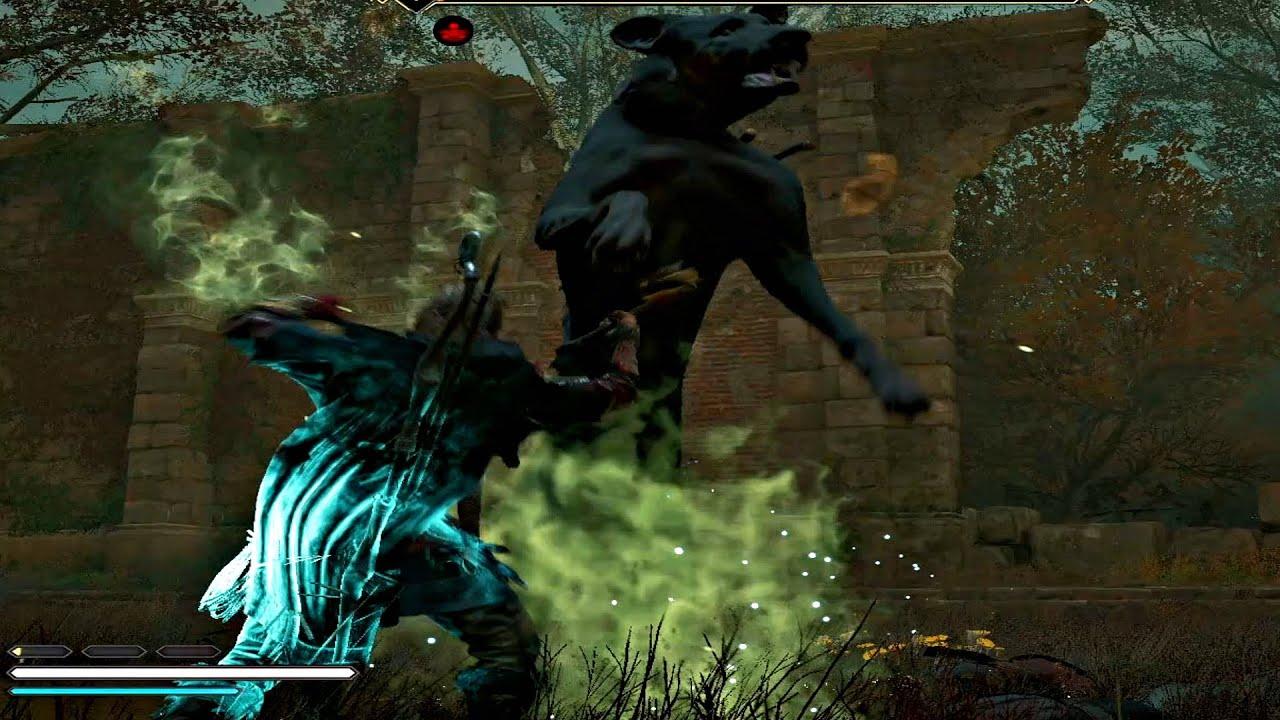 Assassin's Creed Valhalla - Legendary Animal Black Shuck Boss Fight (Assassins  Creed 2020) - YouTube