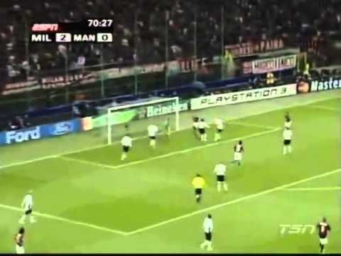 Ac Milan Vs Man United Champions League Semi Final 2007 2nd Half Youtube