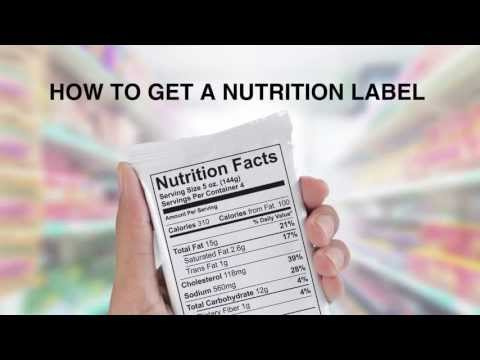 how-to-get-a-nutrition-label:-nutrition-facts-panels