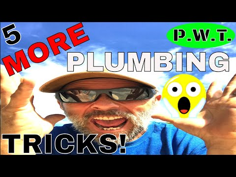5 PLUMBING TRICKS THAT ANYONE CAN DO