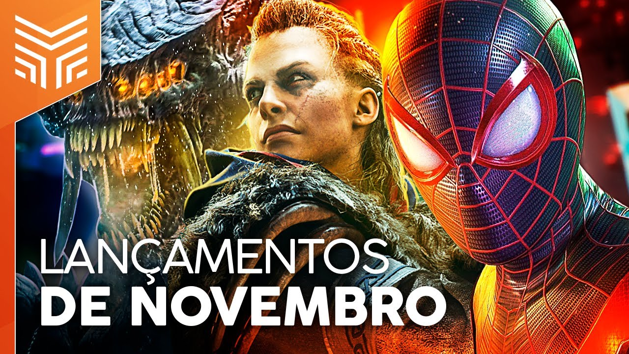 LANÇAMENTOS DE GAMES NOVEMBRO/2020: PS5, XBOX SERIES, AC VALHALLA E MAIS (PS4, XONE, SWITCH E PC)