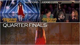 The Sacred Riana: All 3 Performances on America's Got Talent Season 13