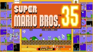 2 Glorious Hours of Mario 35 (10+ wins, insane showdowns)