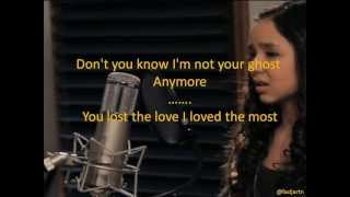 Maddi Jane - Jar of Hearts with Lyrics