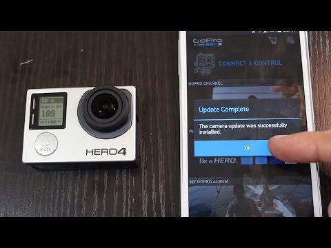 How to update GoPro HERO4 Firmware - Jeremy Sciarappa