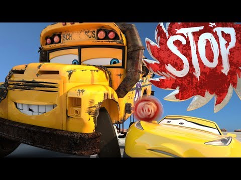 Miss Fritter Bumps into Cruz Ramirez Disney Pixar Cars 3 Toons Season 2 PART 1