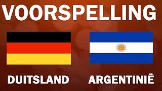 Fifa Voorspelling Wk 2014: Duitsland   Argentinië