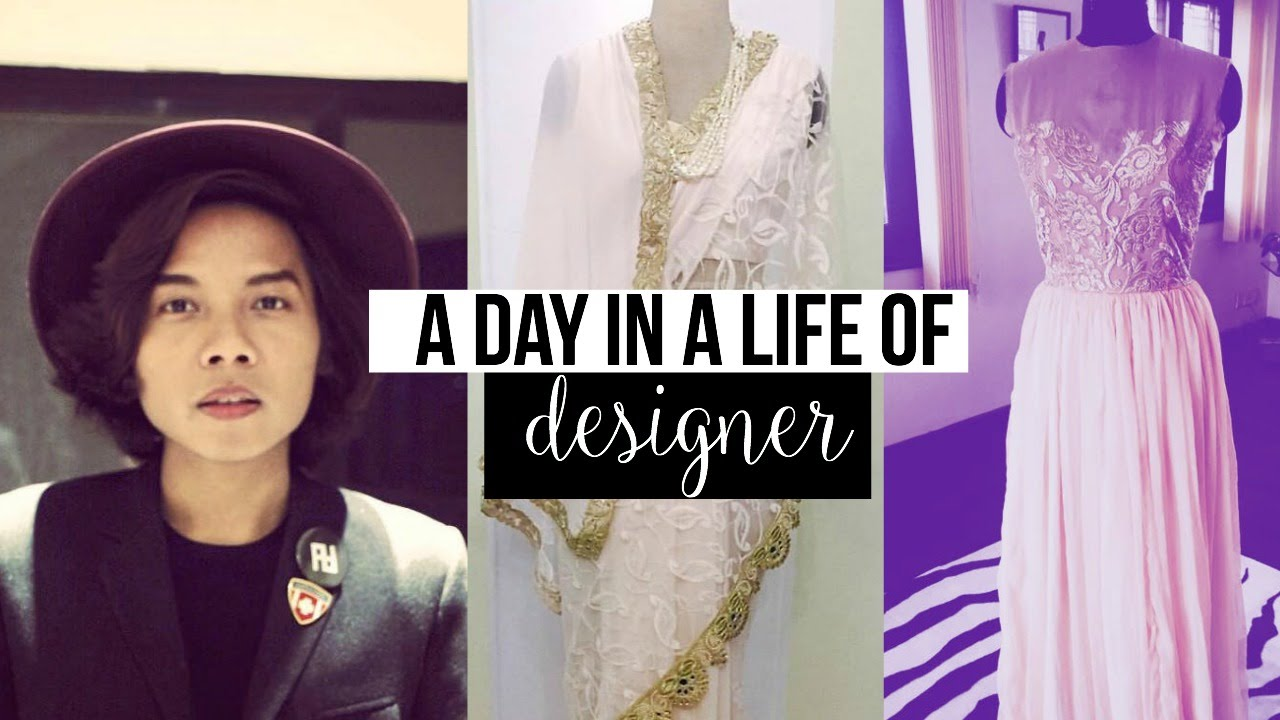 A Day In A Life Of A Nepalese Fashion Designer Youtube
