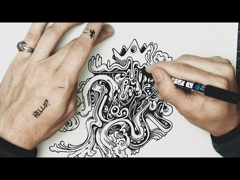Drawing With Peter Draws: Lessons In Freestyle Swirls